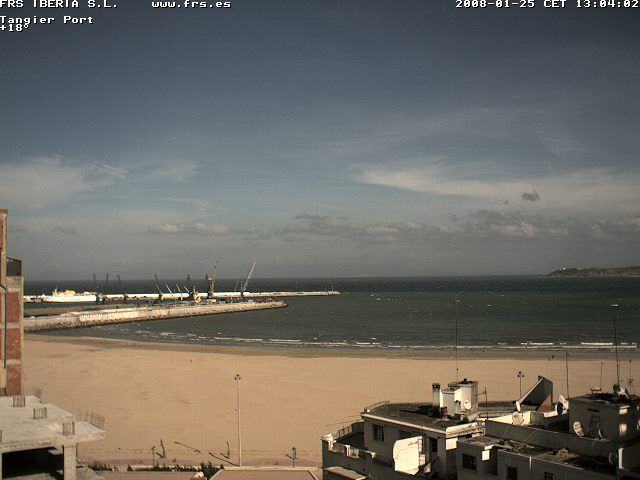 Tanger webcams
