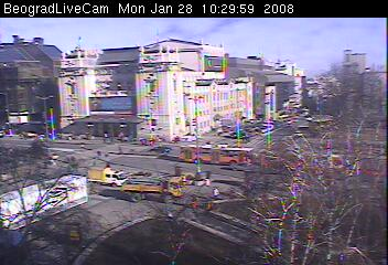 Belgrade webcams